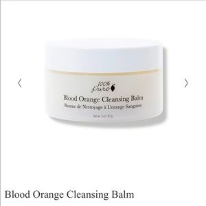 NWT 100% Pure Blood Orange Cleansing Balm